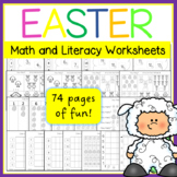 Easter Math and Literacy Worksheets