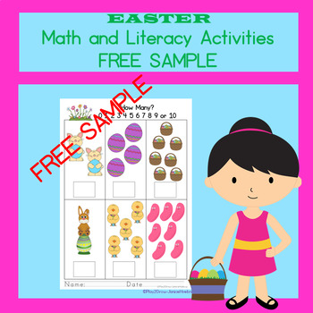Free Kindergarten Easter Worksheets Resources & Lesson Plans ...