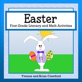 Easter Math and Literacy Activities First Grade Common Core