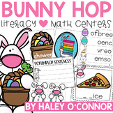Easter Literacy and Math Centers {Word Work, Phonics, and Math Stations}