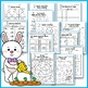 Easter Math and Literacy - Easter Activities for Kindergarten No Prep