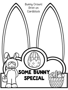 Easter Math and Literacy Packet for Little Learners
