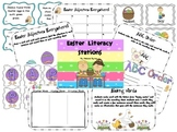 Easter Math and Literacy Stations