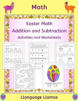 Easter math - simple addition and subtraction