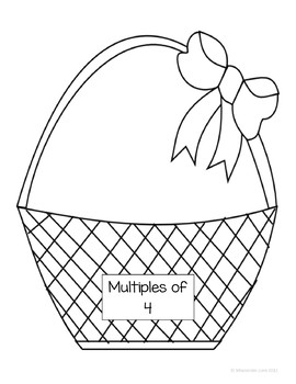Easter Math Journal Prompts and Games (3rd grade Common Core)