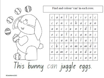 Easter Mathematics English/Literacy Resource Fun Kindergarten Lower Primary