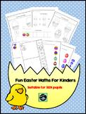 Easter Maths Worksheets For Kinders