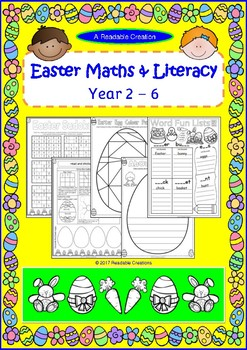 Easter Maths & Literacy {BrE Version}