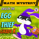 Kindergarten Easter Activity: Easter Math Mystery - Case of The Egg Thief