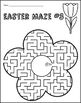 Easter Mazes for 1st and 2nd Grades