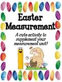 Easter Measurement Activity Book!