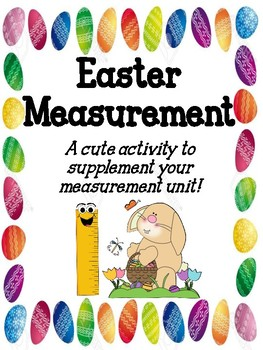 Easter Measurement Activity Book!