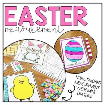 Easter Measurement- Using mini erasers