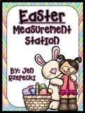 Easter Measuring-Kinder Math Station