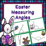 Easter Measuring Angles Math Center