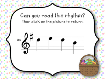Easter Melodies - Interactive Melodic Reading Game {So-Mi-La} Kodaly