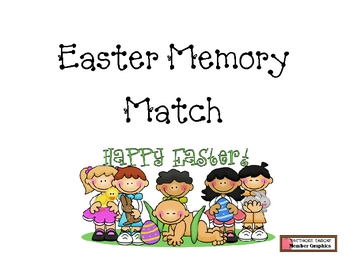 Easter Memory Matching Game
