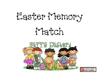 Easter Memory Matching Game