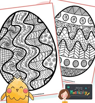 Easter Mindfulness Coloring