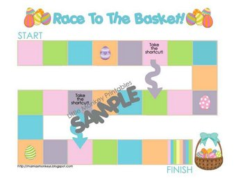 Easter Mini Board Game