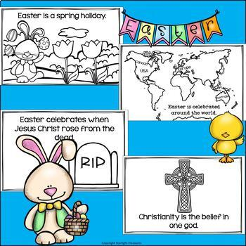 Easter Mini Book for Early Readers