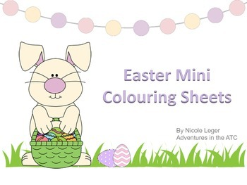 Easter Mini Colouring Sheets