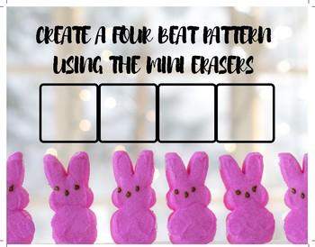 Easter Mini Eraser Music Notation