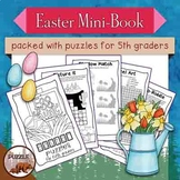 Easter Mini Puzzle Book for Fifth Graders