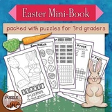 Easter Mini Puzzle Book for Third Graders