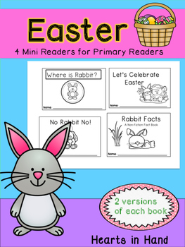 Easter Mini Readers for Primary  (K-2)