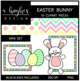 Easter Bunny Mini Clipart Bundle {A Hughes Design}
