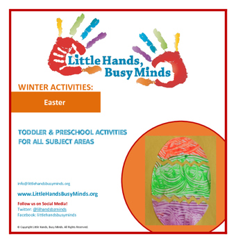 Easter- Mini Thematic Unit for Toddlers/Pre-K