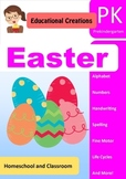 Easter PreK Literacy and Math Activities