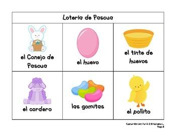 Easter Mini-Unit for Lower Elementary (Spanish Version)