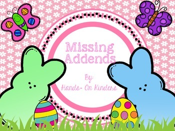Easter Missing Addends