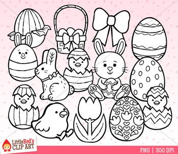 Easter Mix Symbols Clip Art