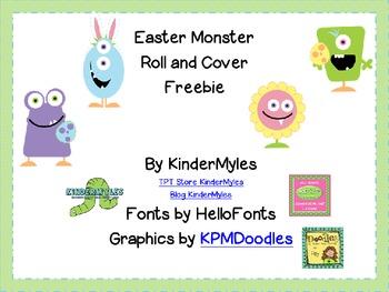 Easter Monster Freebie