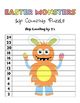 Easter Monsters Skip Counting Puzzles - Numbers 2 to 12