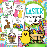 Easter Movement Cards (12 Different Movements)