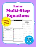 Easter Multi-Step Equations Cooperative Learning Activity
