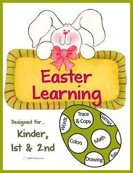 Easter Multi-Subject Unit for Kinder, 1st & 2nd Grades (Non-Religous)