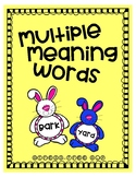 Easter Multiple Meaning Words