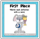 Easter Multiple Meaning Words Activities