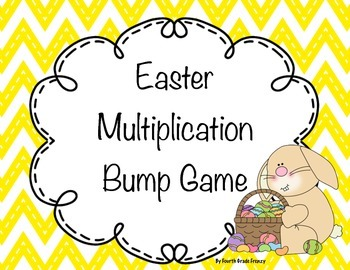 Easter Multiplication Bump Game