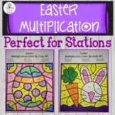 Easter Multiplication Color by Code