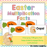 Easter Multiplication Fact Fluency