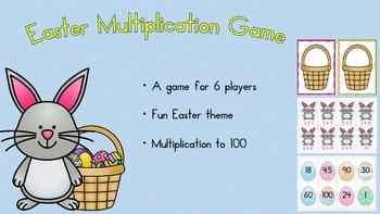 Easter Multiplication Game