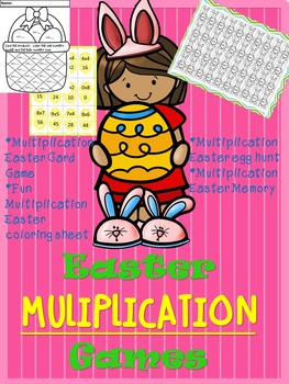 Easter Multiplication Games