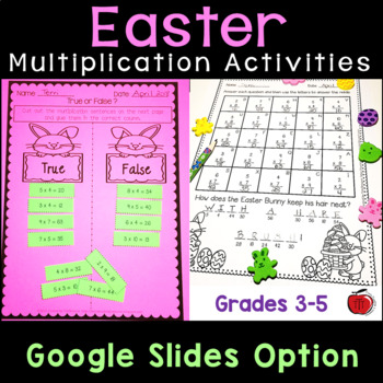 Easter Multiplication Practice