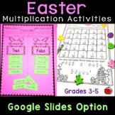 Easter Multiplication Activities - Digital Option - Distan